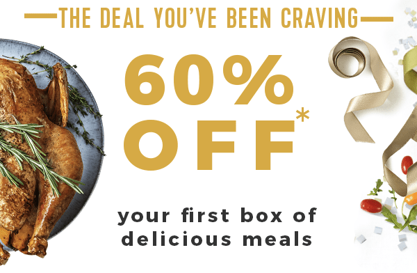 HelloFresh Black Friday Sale Save 60% Off Your First Box