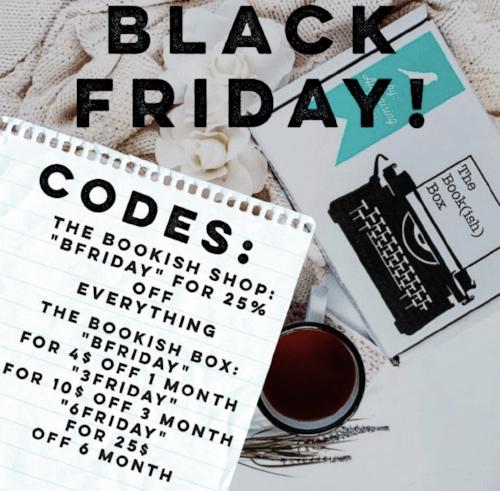 The Bookish Box Black Friday Sale!
