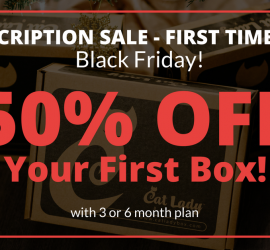 Cat Lady Box Black Friday Sale - Save Up to 50% Off!Cat Lady Box Black Friday Sale - Save Up to 50% Off!