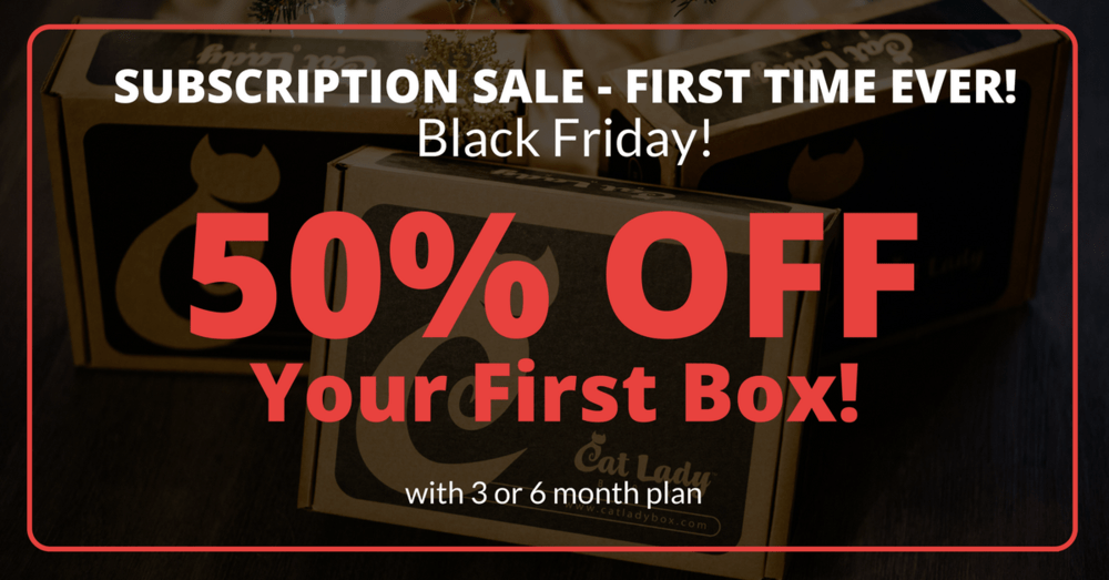 Cat Lady Box Black Friday Sale – Save Up to 50% Off!