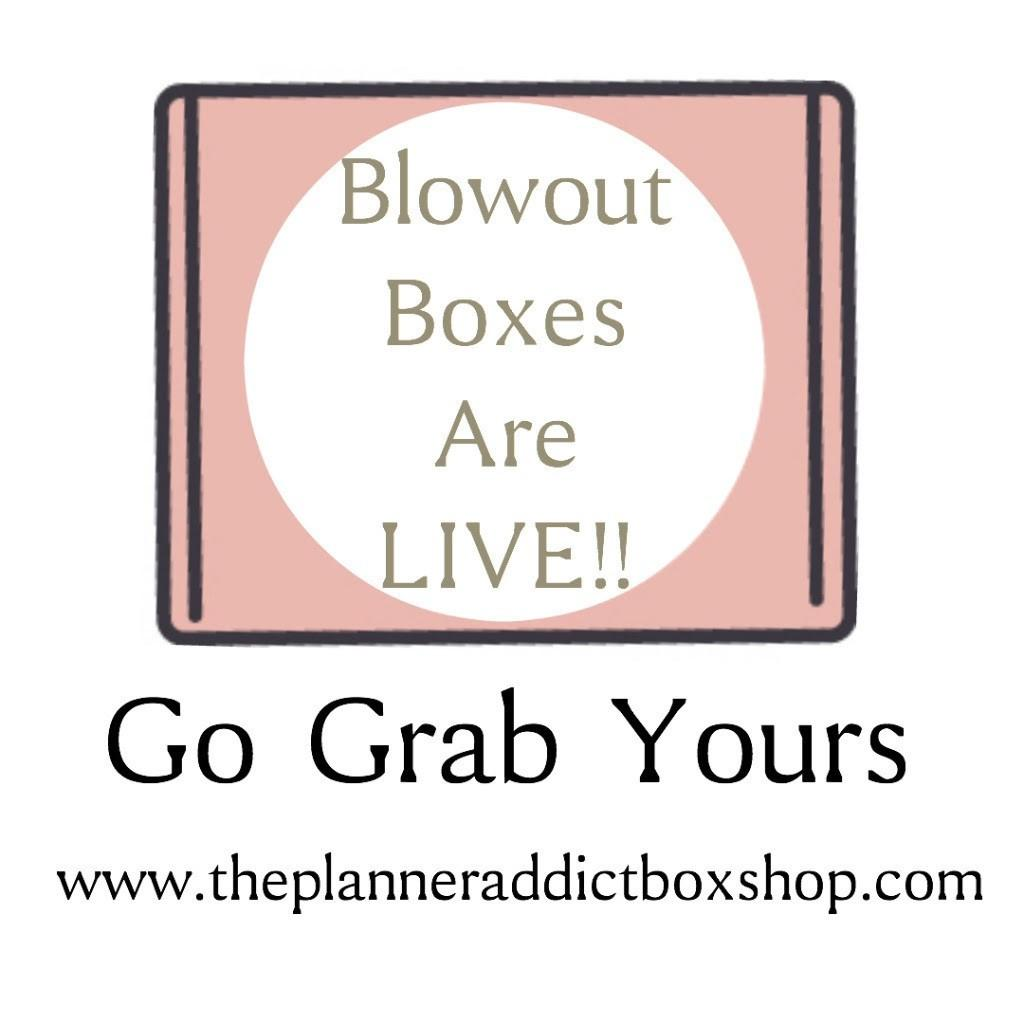 The Planner Addict Blowout Boxes – Now Available!
