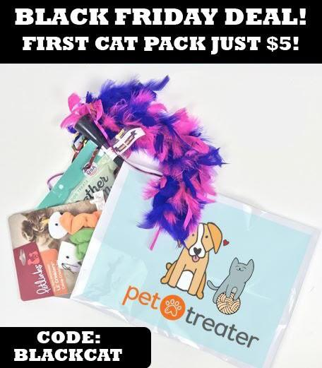 Pet Treater Coupon Code – Pet Treater Cat Pack for $5
