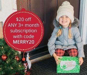 Green Kid Crafts Holiday Sale – $20 Off 3,6 or 12-Month Subscriptions!