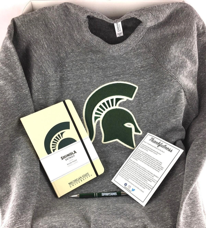 Spartan Box Michigan State Subscription Box Review November 2017