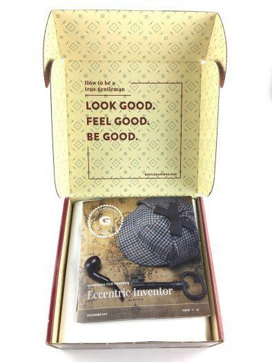 Gentleman's Box Review - December 2017