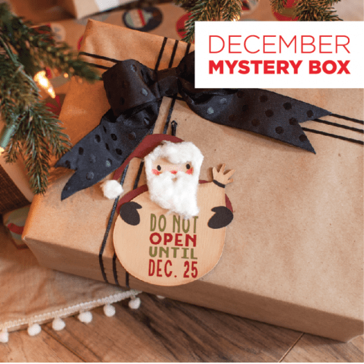 Cricut December Mystery Box – On Sale Now + Coupon Code