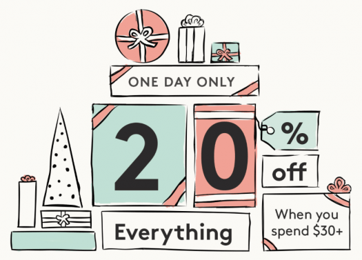 Birchbox Save 20% Off Your Purchase of $30+