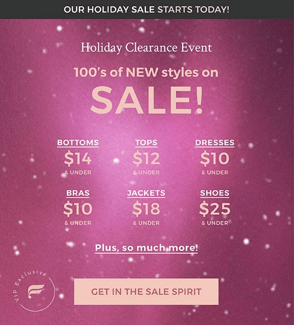 Fabletics Holiday Sale – Save Up to 70% Off!