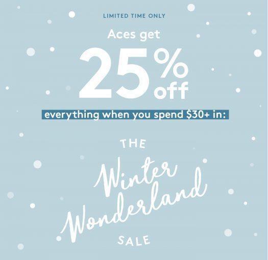 Birchbox ACES Save 25% Off Sale Items