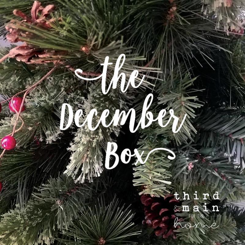 Third & Main December 2017 Subscription Box FULL Spoilers!