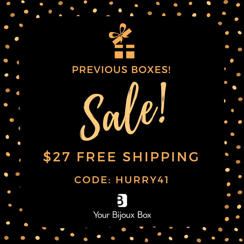 Your Bijoux Box Past Box Sale