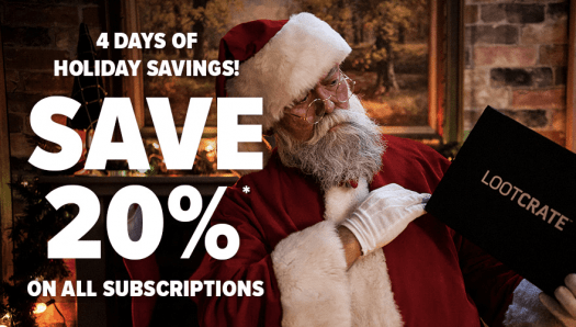FINAL HOURS: Loot Crate Coupon Code – 20% Off Sale