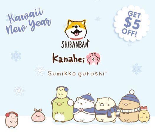 Kawaii Box January 2018 Sneak Peek + $5 Coupon Code