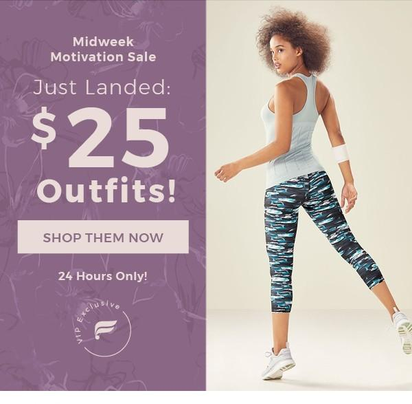 Fabletics $25 Outfit Sale
