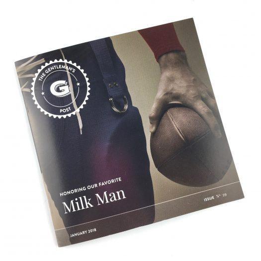 Gentleman's Box Review - January 2018