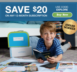 Little Passports Coupon Code - Save $20!