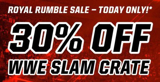 Loot Crate WWE Slam Crate Flash Sale – Save 30%!