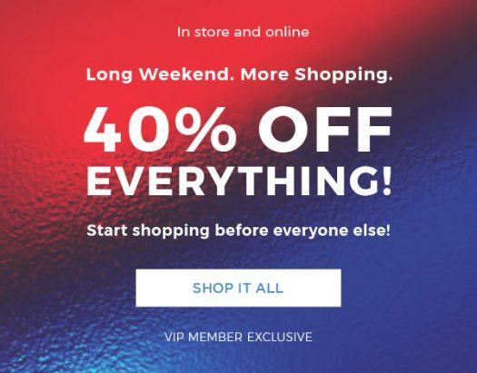 LAST DAY: Fabletics Holiday Sale – Save 40% Off EVERYTHING