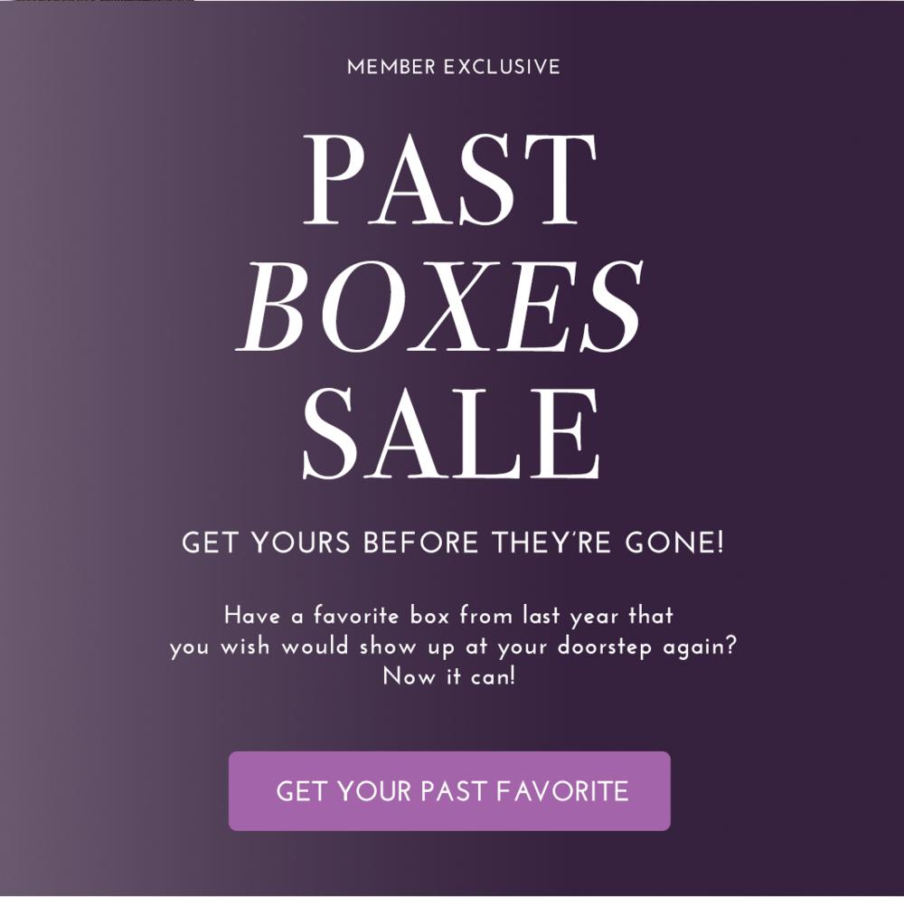 Yogi Surprise Past Box Sale
