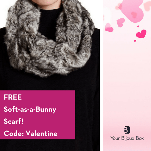 Your Bijoux Box February – Free Scarf with New Subscriptions!