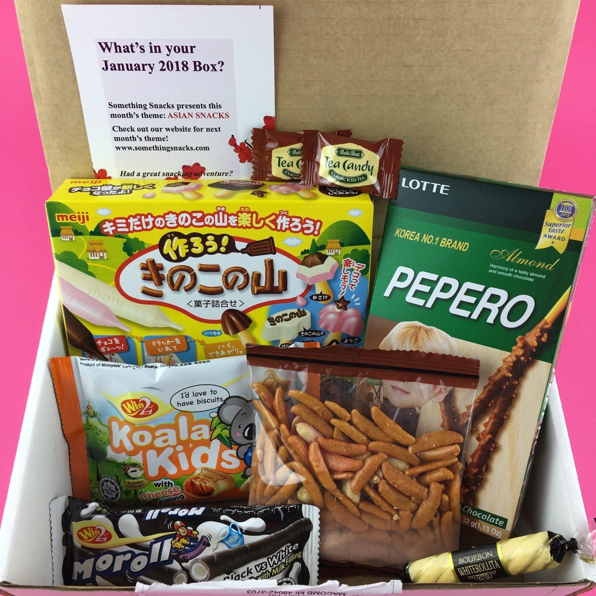 Something Snacks Review – January 2018