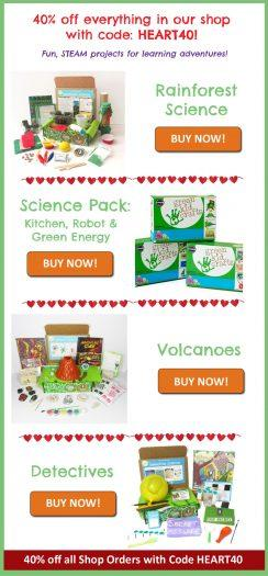 Green Kid Crafts – 40% Off Shop Items or 50% Off February Box!