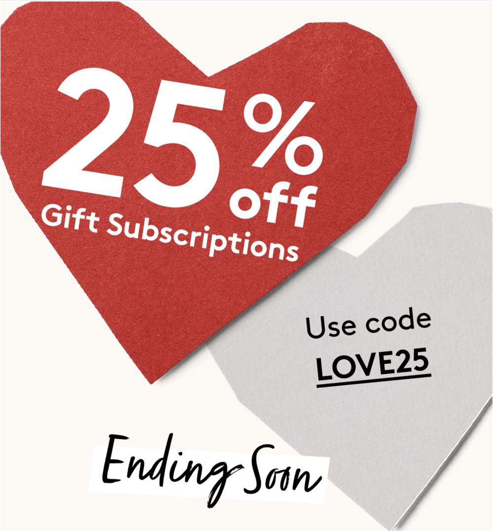 Birchbox Save 25 Off Gift Subscriptions Subscription Box Ramblings