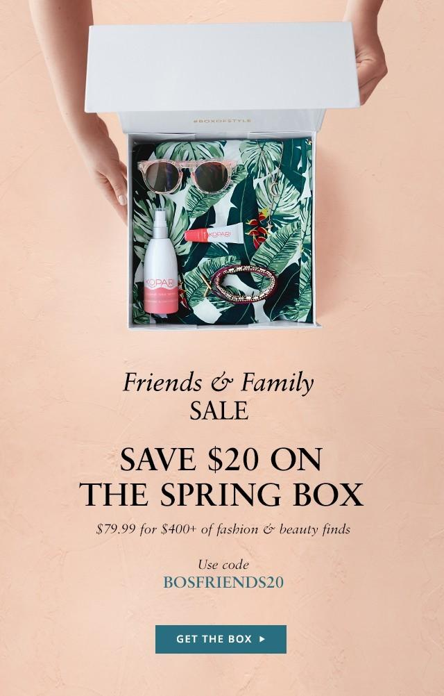 Box of Style by Rachel Zoe Friends & Family Sale – Save $20!