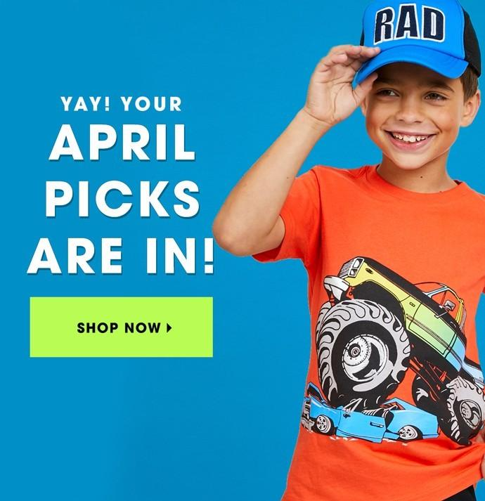 April 2018 FabKids Selection Time + New Subscriber Offer