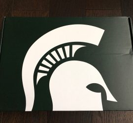 Spartan Box Michigan State Subscription Box Review - February 2018