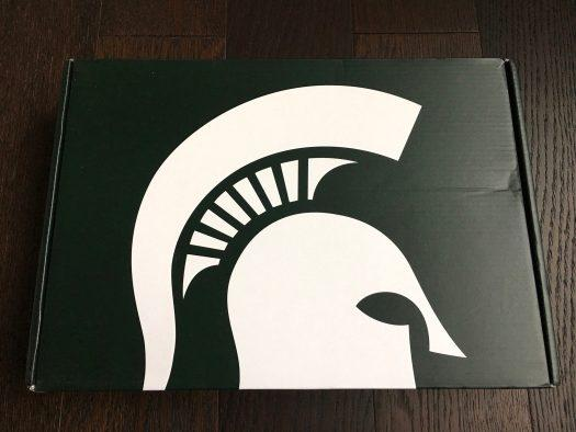 Spartan Box Michigan State Subscription Box Review – February 2018