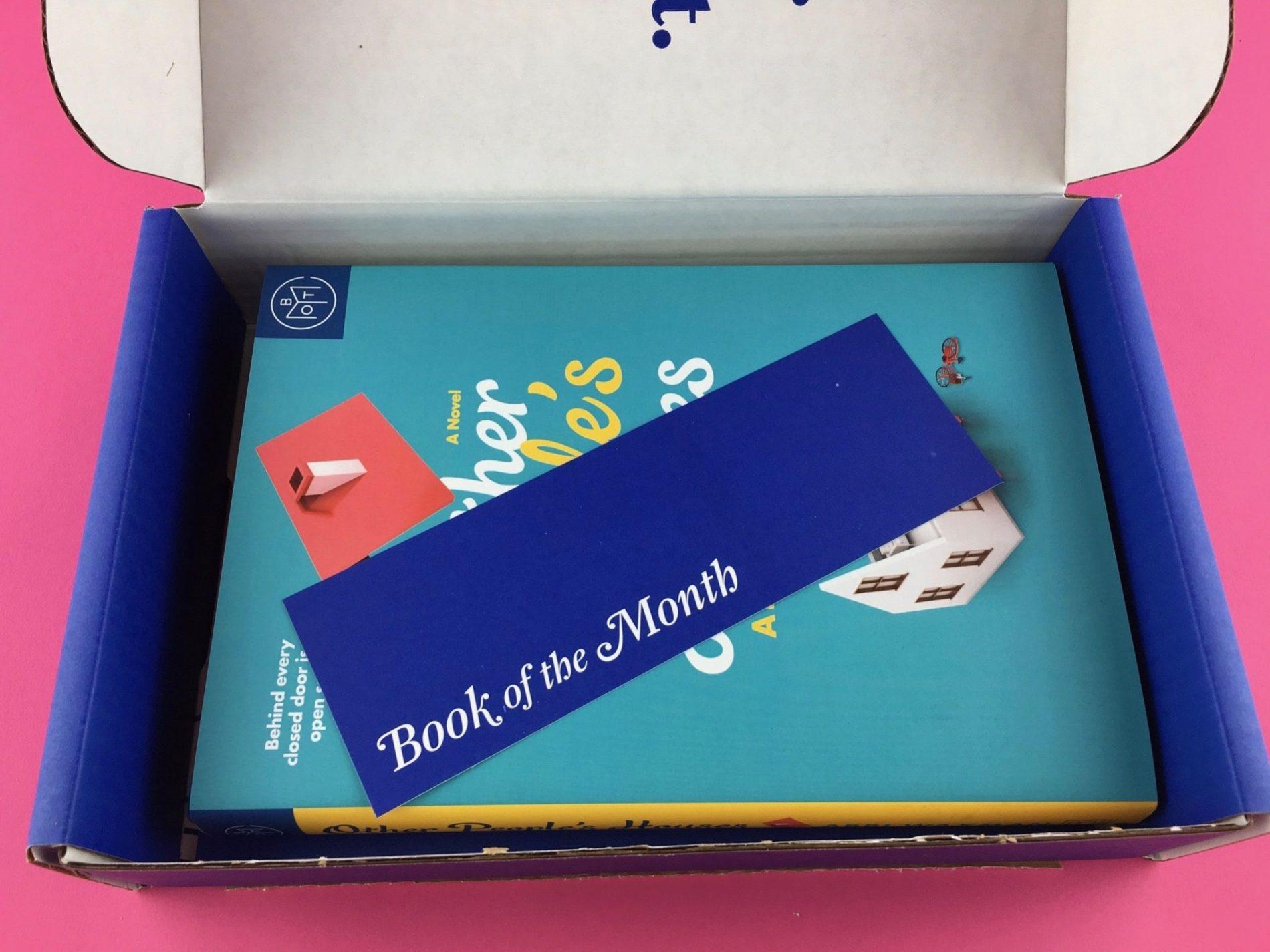 Book of the Month Review + Coupon Code – March 2018