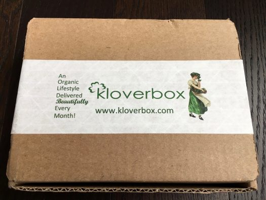 Kloverbox Review + Coupon Code - March 2018