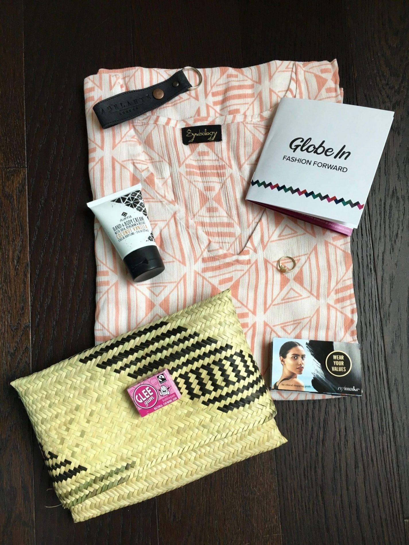 "GlobeIn Review – ""Fashion Forward"" + Coupon Code – April 2018"