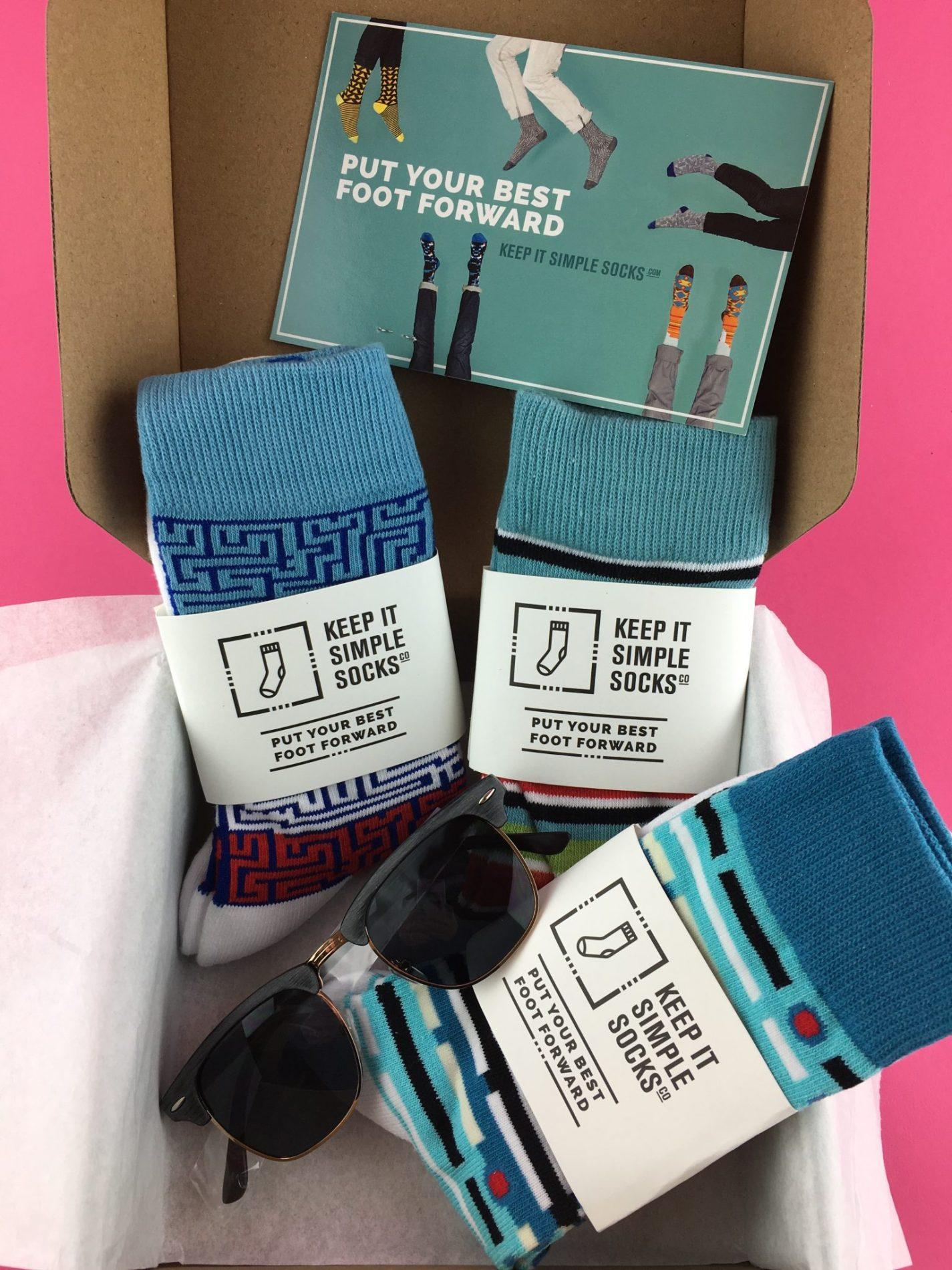 Keep It Simple Socks Review – February 2018