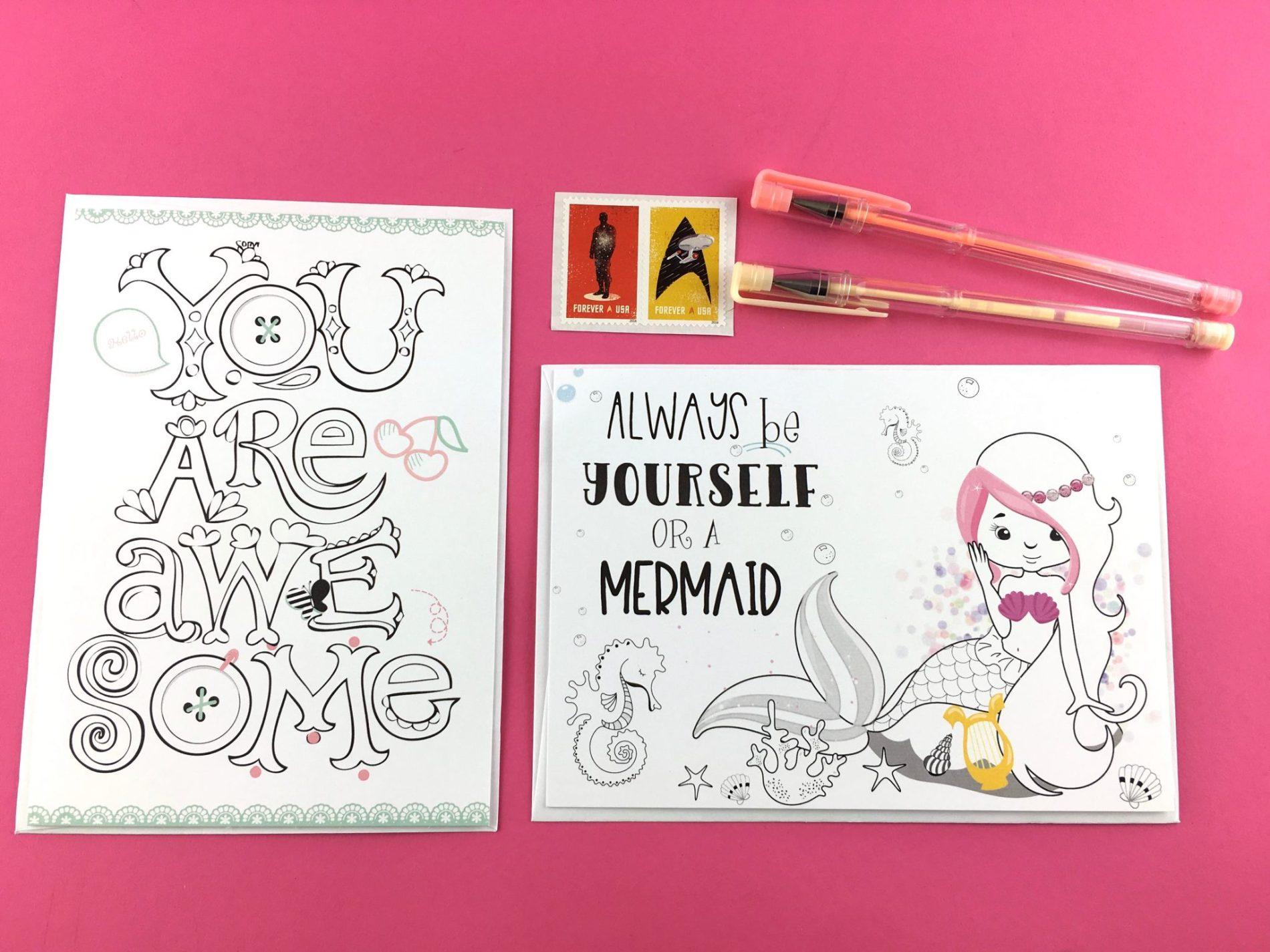 Doodle Art Greeting Cards By Craftkizzy Review February 2018