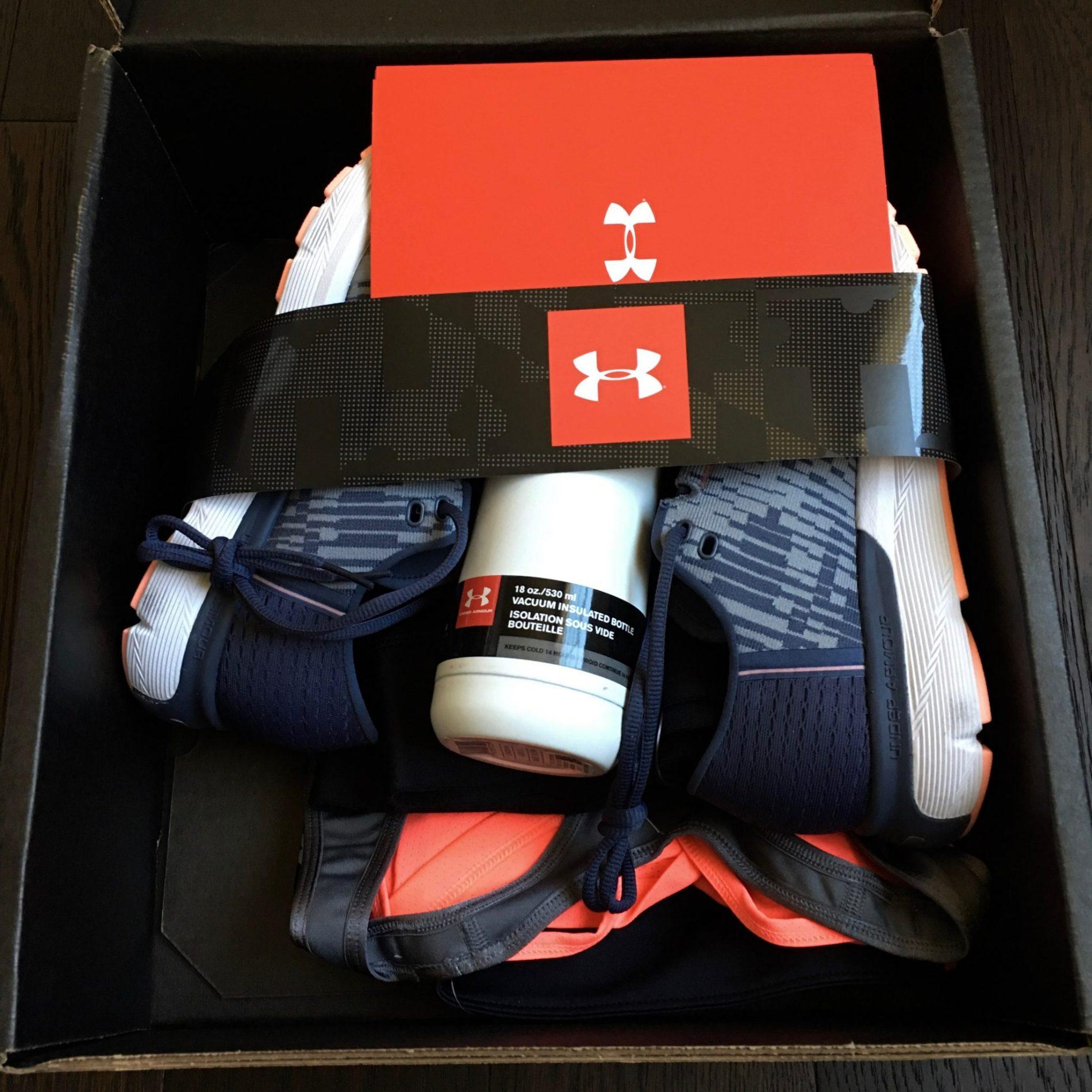Under Armour Armourbox Review March 2018 Subscription