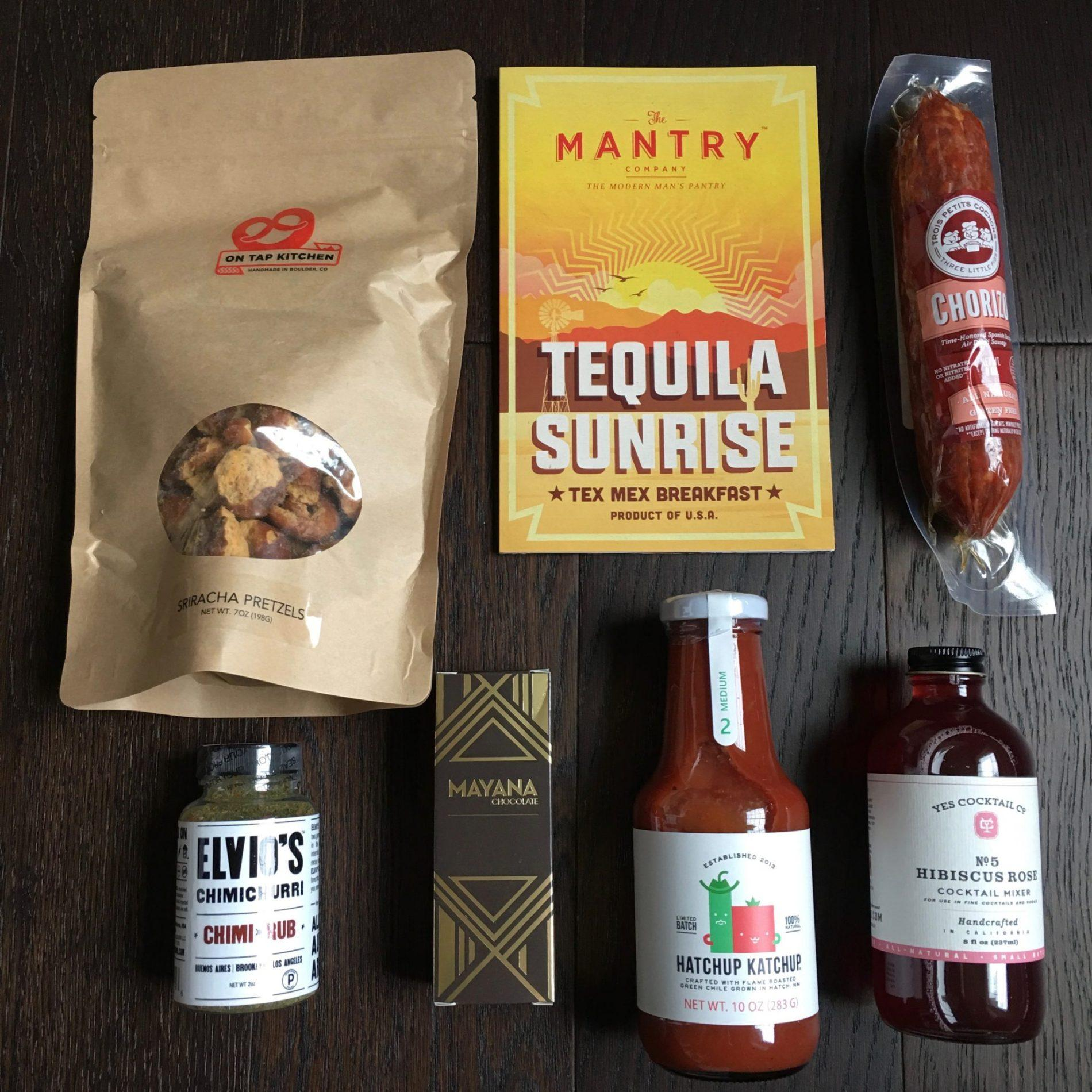 Mantry Subscription Box Review – March 2018