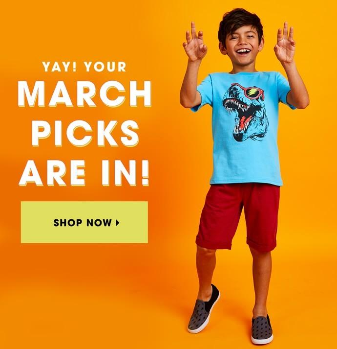 March 2018 FabKids Selection Time + New Subscriber Offer