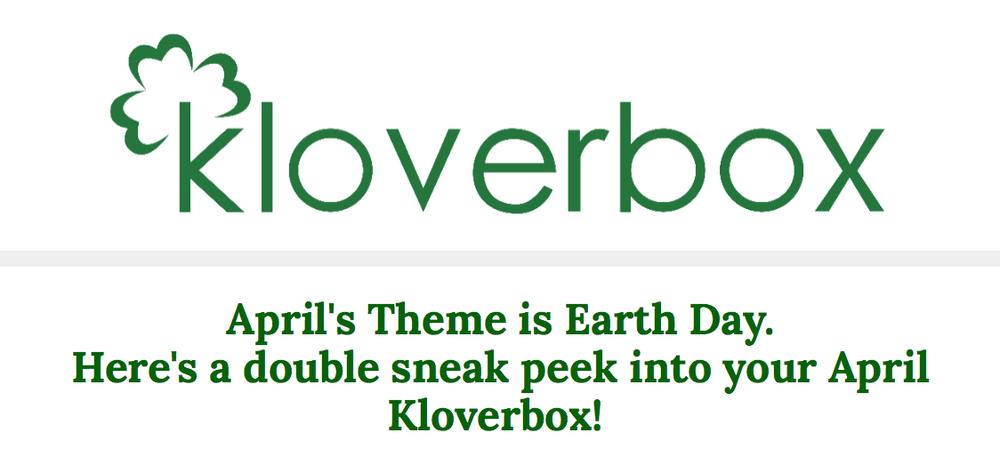 Kloverbox April 2018 Spoilers #1 & #2!