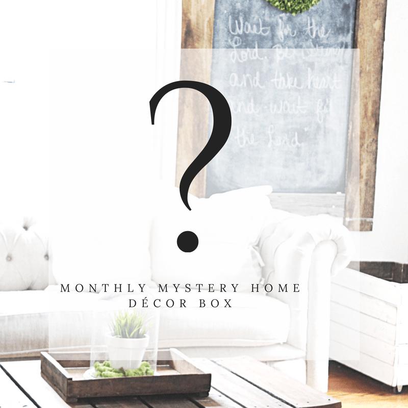 New Box Alert: Gable Lane Crates Monthly Mystery Box!