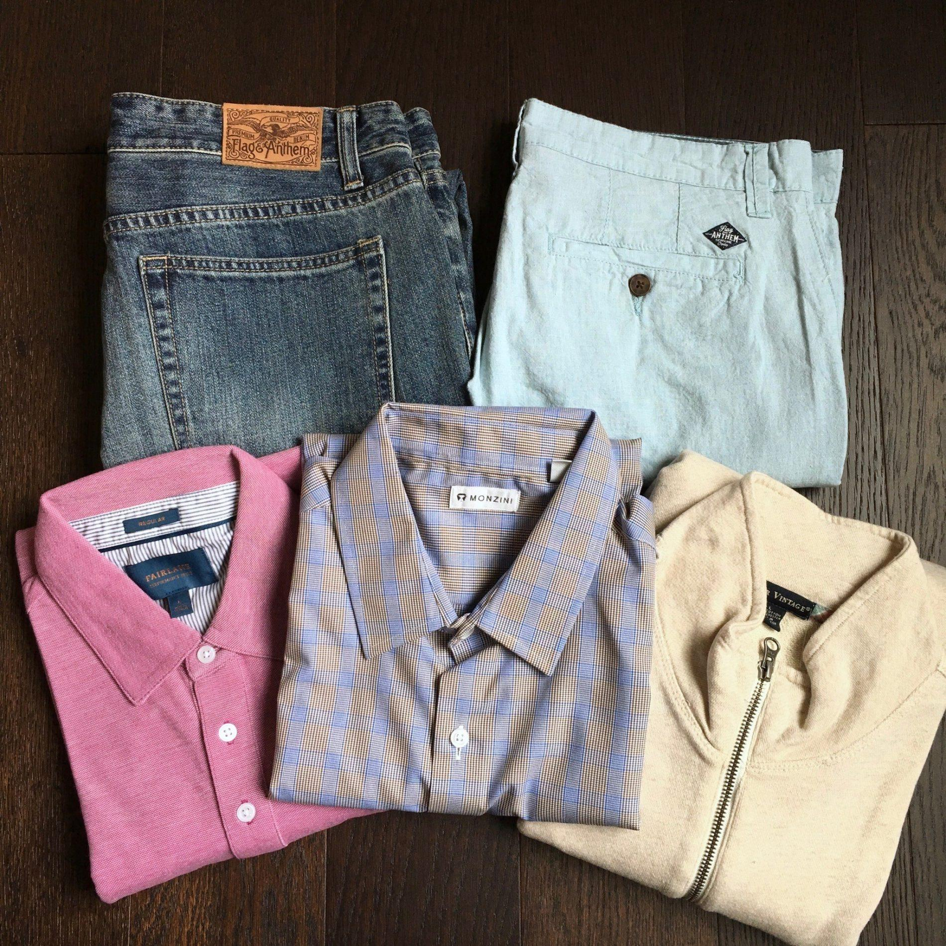 Stitch Fix Men Review – April 2018