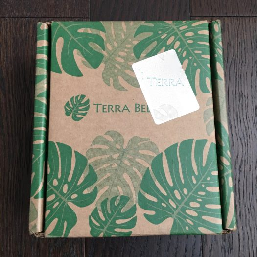 Terra Bella Subscription Box Review - April 2018