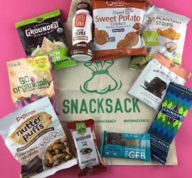 SnackSack Subscription Box Review - April 2018