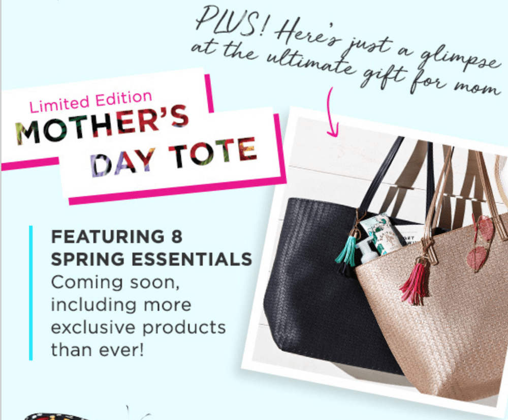 Bath & Body Works Mother's Day 2018 Tote – Coming Soon!