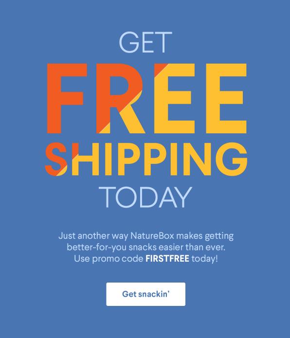 NatureBox Coupon Code – Free Shipping