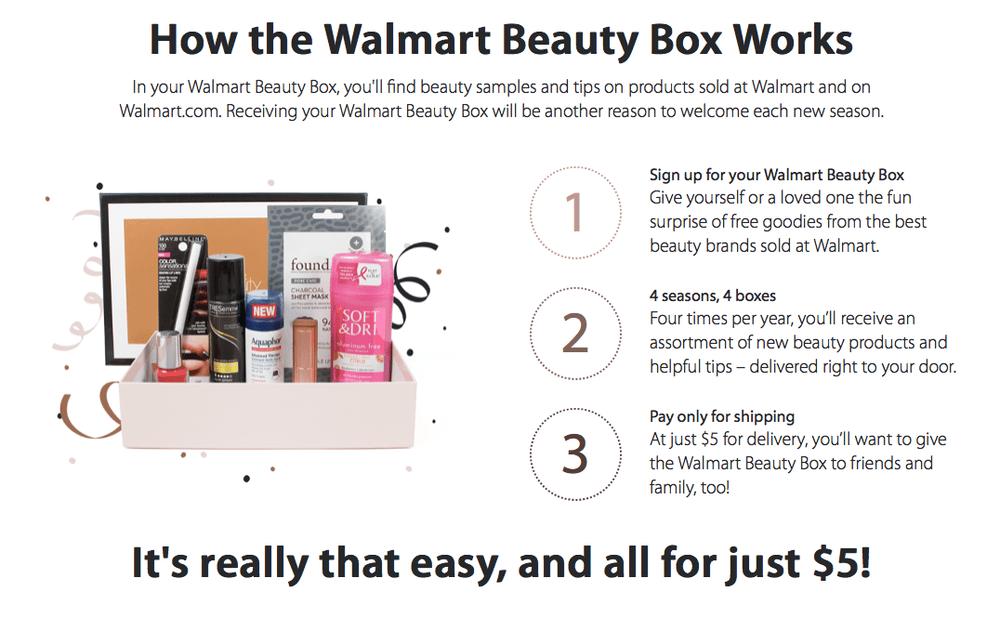 Walmart Beauty Box - Summer 2018 Box On Sale Now