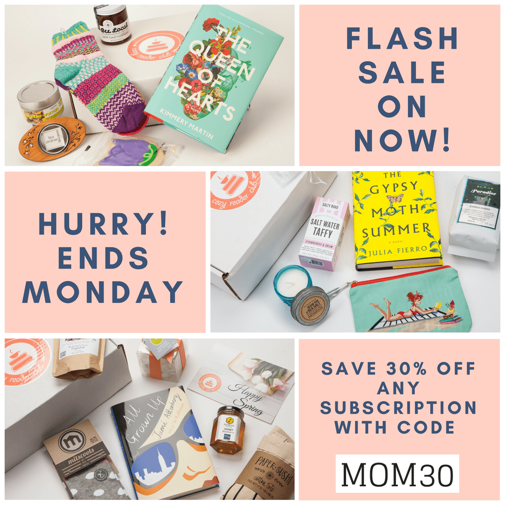 Cozy Reader Club Mother's Day Sale – Save 30%!