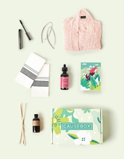 CAUSEBOX Mother's Day Offer - Free Essential Oil Set