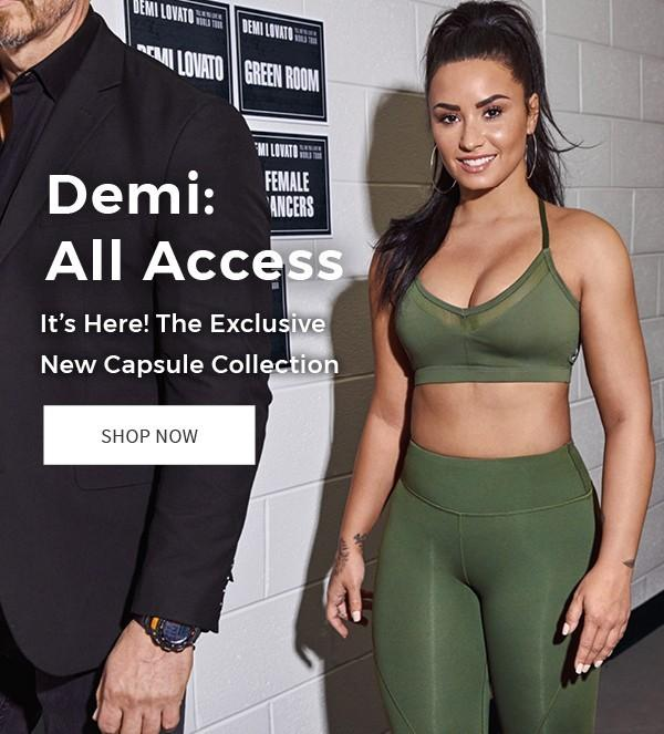 41d5279682 Demi Lovato for Fabletics Capsule Collection - Now Available ...